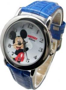迪士尼 2030M 俏皮可愛米奇 皮帶錶