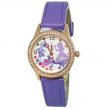夢遊愛麗絲水晶鑽精緻腕錶