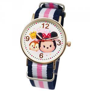 【迪士尼】超薄玫瑰金錶款-TsumTsum米妮