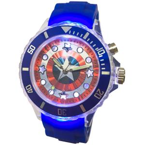 【漫威Marvel】美國隊長LED酷炫閃燈錶